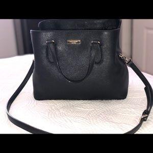 Kate Spade black purse & big wallet